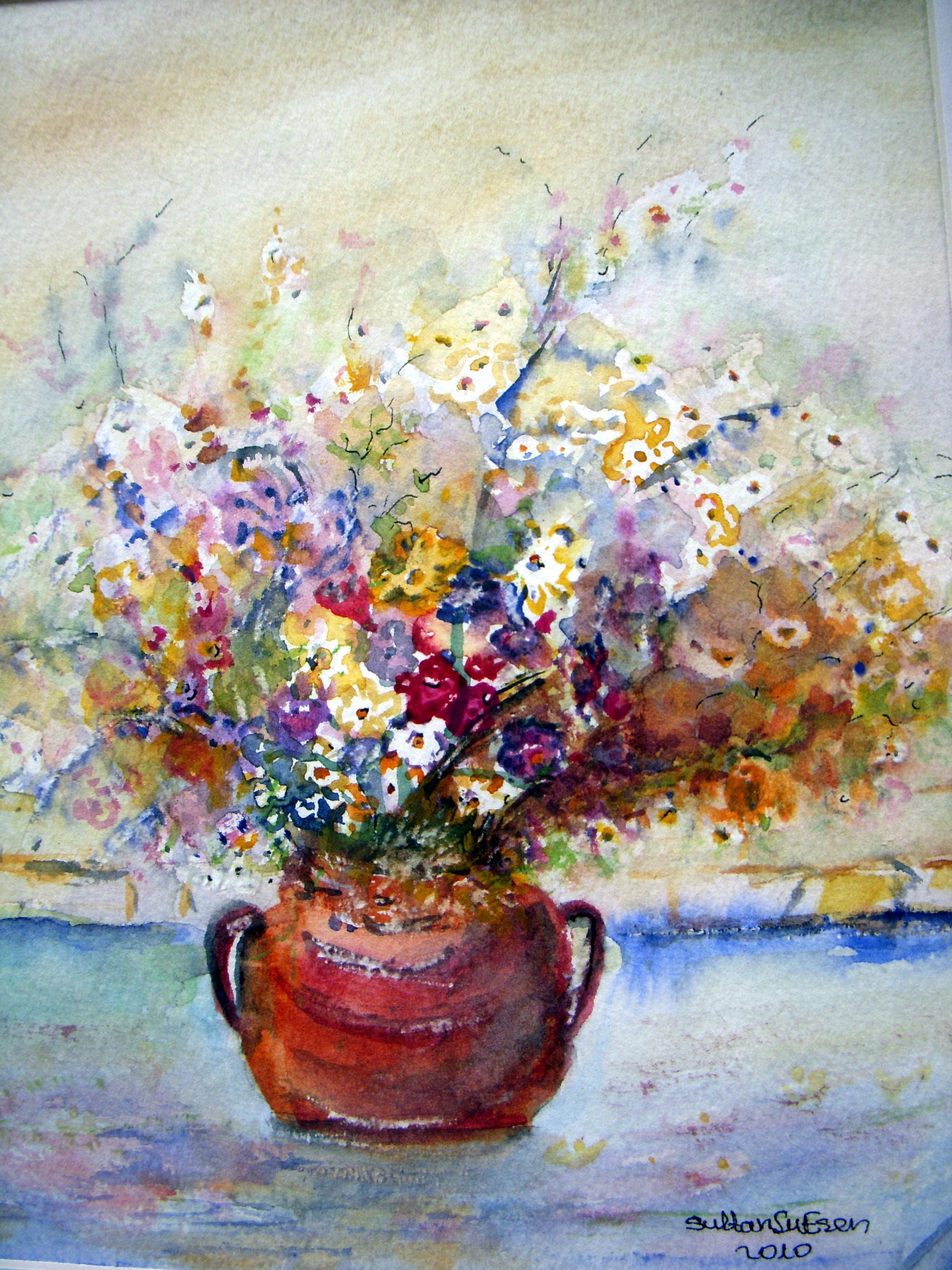 Rüya Tercüman. Bir rüyada çiçekler